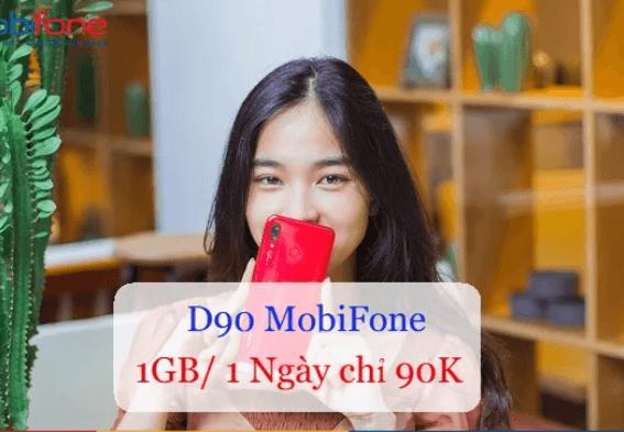 Đăng ký gói D90 MobiPhone